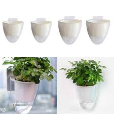 2pc self watering plant flower pot