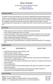 Example Cv Resume - Resume And Cover Letter - Resume And Cover Letter