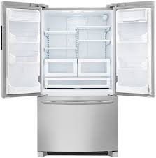 refrigerator 8 cu ft. frigidaire fghn2866pf 36 inch french door refrigerator with quick freeze, air and water filter, energy star, 27.7 cu. ft capacity, adjustable spillsafe 8 cu