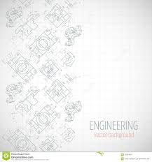 Abstract Poster Cover Banner Background With Technical Drawing Of