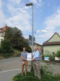 Zoom (von Links): Dennis Geier (Netzplaner Syna GmbH), Joachim Bösenecker  (Bürgermeister Gemeide Epfenbach)
