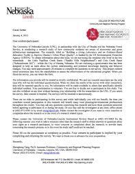 Sample Survey Cover Letter The Best Letter Sample Survey Cover