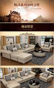 Royal Furniture Design Oshines Furniture Factory Wholesale Royal Furniture Italian Genuine Corner Leather Sofa Set 112l