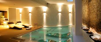 Whirlpool Tub with Shower Steam Room  Luxury Home Spa