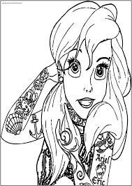 Free Printable Princess Ariel Coloring Pages Printable Coloring