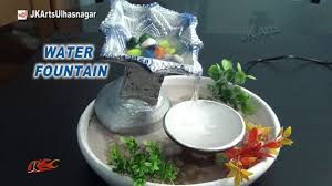 diy how to make waterfall with waste diya easy tabletop water fountain jk arts 882 you