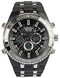 men s watches amazon co uk globenfeld jetmaster men s sports watch rugged durable design for the modern man jet black metal case silicone rubber wrist band
