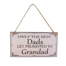 oulii dad plaque dads gifts grandad birthday fathers day gift wall plaque sign by oulii for homeware in new zealand