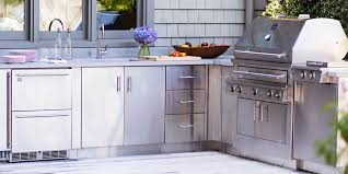 Viking Outdoor Cabinets have been designed to be easily installed by  contractor or consumer. The cabinets are designed completely of stainless  steel and ...