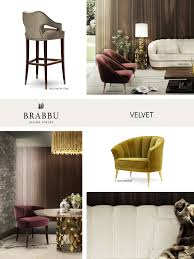 Small Picture VELVET The Trendiest Materials For Your Home Decor In 2017