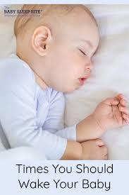 Healthy Sleep Habits Happy Child Sleep Chart 5 Times You Should Wake Your Baby From Sleep The Baby