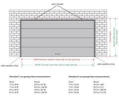 57 garage door sizes elegant garage door sizes spectacular r 21 in perfect home design ideas