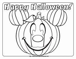 Disney Halloween Coloring Pages Free Coloring Pages