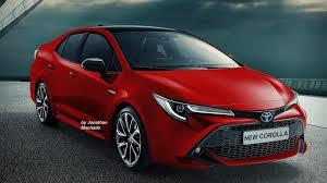 Renderings: Next Generation Toyota Corolla Imagined — CarSpiritPK