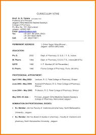 Amazing Job Biodata Sample Pictures Inspiration Example Resume