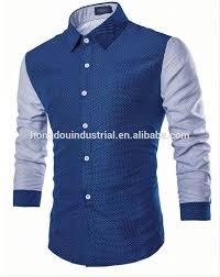 Pattern Shirts Delectable China Wholesale Clothing Custom Design Pattern Men Shirt Latest