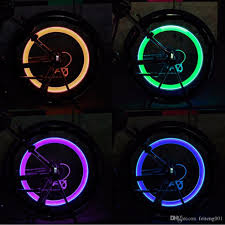 Bike Neon Lights 2019 Super Power Lights Tire Lamp Resistant Multicolor Bike Bicycle Accessories Supplies Neon Strobe Led Tire Valve Caps 272208 788856 From