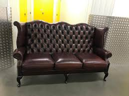 genuine chesterfield sofa free delivery