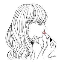 おしゃれなトプ画似顔絵描きます シンプルかわいいカップルイラストも
