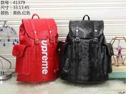 high quality free 2018 luxury brand women backpack men bag famous designers men s leather backpack women s travel bag backpacks