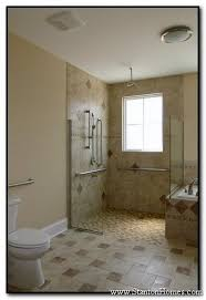 Handicapped Bathroom Cool Wheelchair Accessible Homes Accessible Shower Design Photos