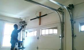zero clearance garage door openers zero clearance garage door opener low clearance garage door opener large