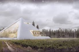 Pyramid Houses Someone Designed A Perfect Pyramid House And We Want It