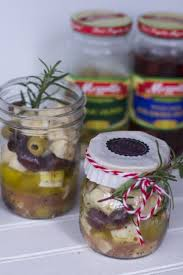 gift in a jar appetizer recipe marinated olive and cheese recipe