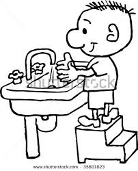 washing hands clip art black and white. Delighful Hands Restroom Washing Hands In Clipart  Kid Svg Transparent Stock With Clip Art Black And White N