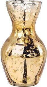 gold mercury glass vases adelaide bud vase luna bazaar