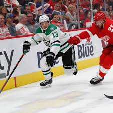 Detroit Red Wings Depth Chart Fatigued Dallas Stars Fall To Detroit Red Wings Lose 4 3