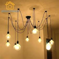 multiple bulb hanging light fixture multi bulb floor lamp desk for hanging light fixture dollhouse