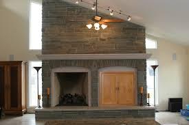 Charming Stone Around Fireplace Pics Inspiration ...