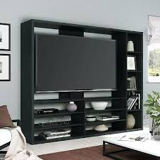 large tv stands with storage entertainment center stand media console shelf unit holder bookcase