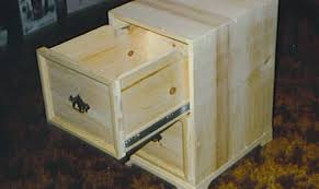 2 Drawer File Cabinet Wood Plans Wooden Thing