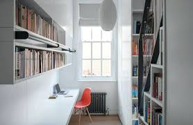 Home study furniture ideas Design Ideas Home Library Furniture Ideas Small Awkward Room Has Been Converted Into Home Study And Library With Some Built Ins And Wall Mounted Units Image Collect Supermarioflashinfo Home Library Furniture Ideas Small Awkward Room Has Been Converted