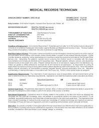 Resume General Office Clerk Medical Billing Job Description Stunning