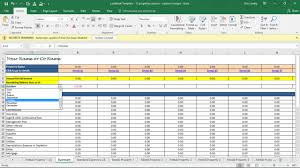 Rental Template Excel Landlord Expenses Spreadsheet Income Expense Excel