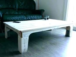whitewashed round coffee table white washed distressed s reclaimed wood
