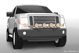 how to install offroad lights on your vehicle yourmechanic advice How To Wire Strobe Lights On Truck frontside of truck with offroad lights mounted Strobe Lights On Cars