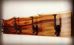 Rustic Wooden Coat Rack Genuine Rustic Coat Rack Along With Shelf Wall Mounted Coat Racks 65