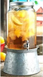 5 gallon glass drink dispenser with spigot 3 gallon glass beverage dispenser 5 with spigot