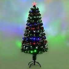 Christmas Tree With Changing Lights Led Changing Lights Led Fiber Optic Christmas Tree Fiber