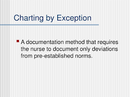 Nursing Documentation Charting By Exception Ppt Basic Nursing Foundations Of Skills Concepts