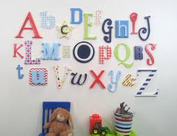 wood alphabet letters wall art catwallart
