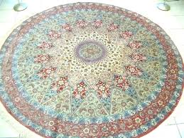 6 ft square rug foot round 9 4 area outdoor pad