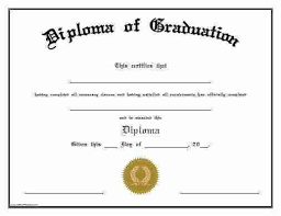Graduation Certificate Template Free Carinsurancequotes66 Info