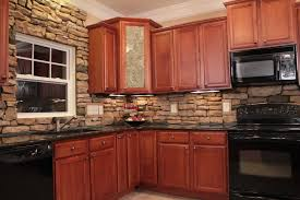 stone veneer kitchen backsplash.  Stone Thinking About Adding A Section Of Backsplash Behind Your Stove Interior Stone  Veneer May Just Be The Way To Go Use Variety Vivid Shades Add  Intended Stone Veneer Kitchen Backsplash O