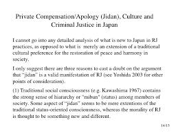 restorative justice in  13 15 15