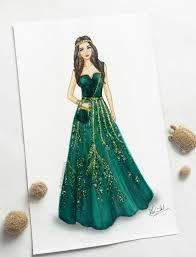 Fashion Designing Drawings Gowns Fashion Eliesaab Hautecouture Illustration Fashion